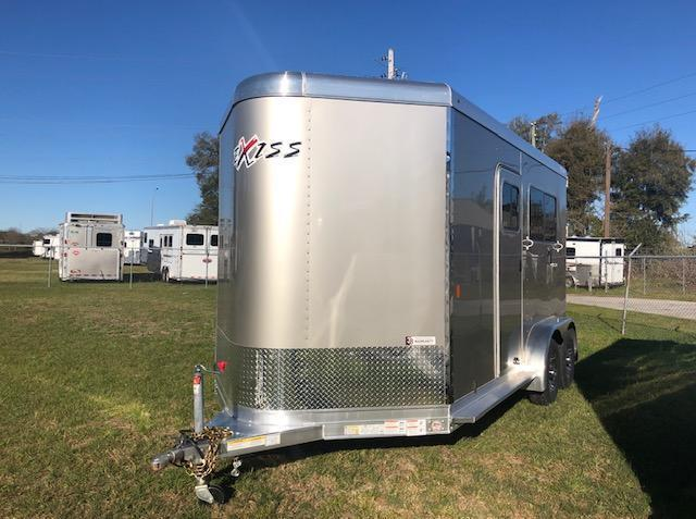 2021 Exiss Trailers 2 horse straight load bumper pull (model 724) Horse Trailer