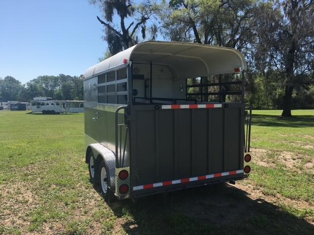 1990 Homemade 2 horse straight load bumper pull Horse Trailer
