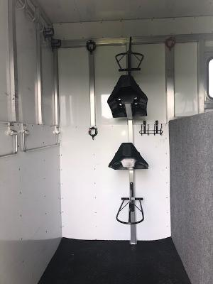 2019 Trailers USA Inc. 2 plus 1 with dressing room Horse Trailer