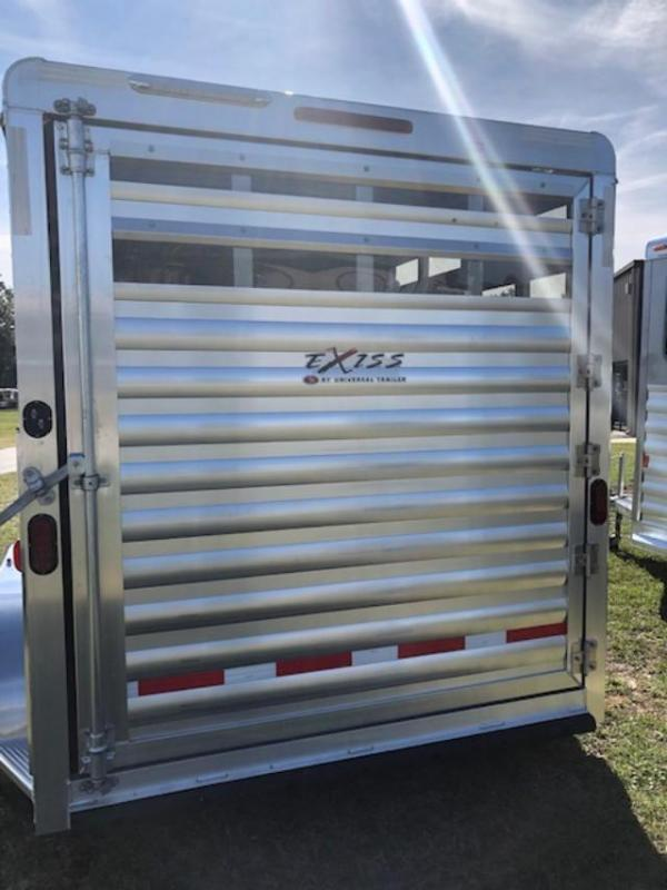 2020 Exiss Trailers 2 horse slant cxf with dressing room Horse Trailer
