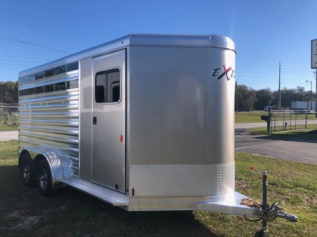 2020 Exiss Trailers 3 horse CXF slant load bumper pull Horse Trailer