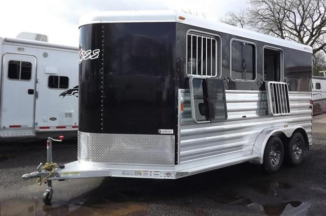 2021 Exiss Trailers 3 horse (model XT) bumper pull w/dressing room Horse Trailer
