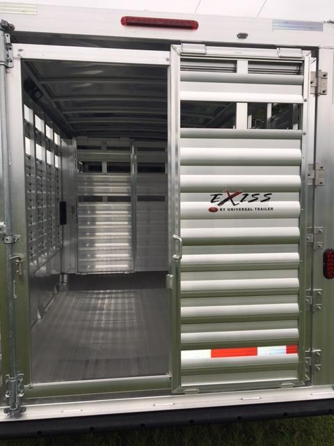 2021 Exiss Trailers stock 20 Livestock Trailer