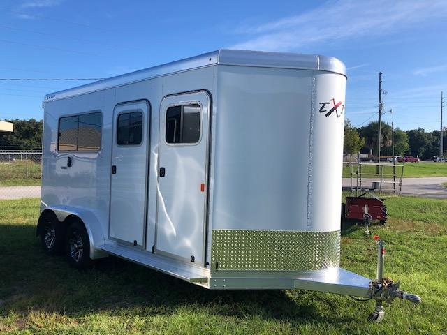 2021 Exiss Trailers 2 horse straight load (model 724) Horse Trailer