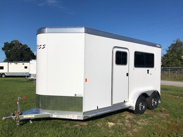 2022 Exiss Trailers 2 horse straight load (model 724) Horse Trailer