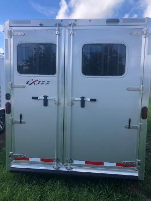 2021 Exiss Trailers 3 horse slant with dressing room (model SS) Horse Trailer