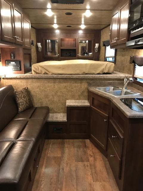 2021 Exiss Trailers 8' wide 4 horse w/10' lq Horse Trailer