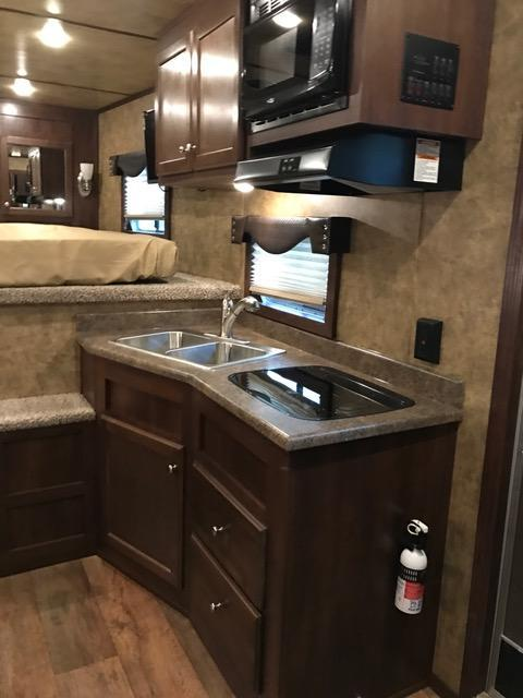 2022 Exiss Trailers 8' wide 4 horse w/10' lq Horse Trailer