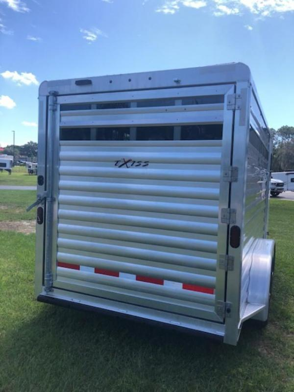 2021 Exiss Trailers 3 horse bumper pull with dressing room (model CXF Horse Trailer
