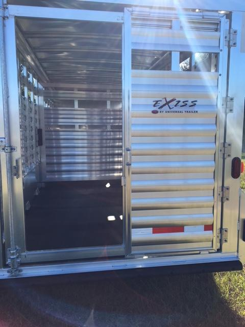 2021 Exiss Trailers stock combo 24 Horse Trailer