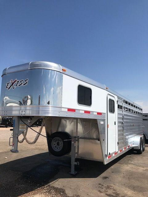 2022 Exiss Trailers stock combo 24 Horse Trailer