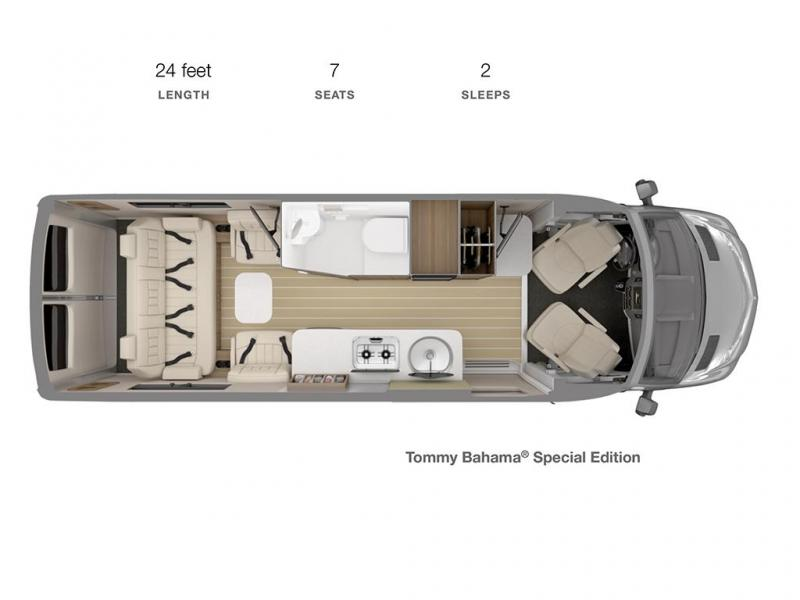 2022 Airstream Interstate 24GT Tommy Bahama Special Edition