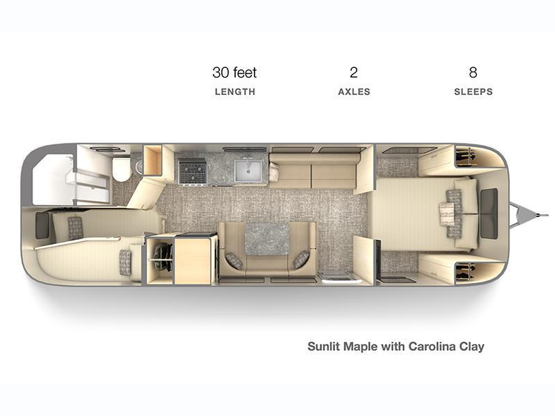 2022 Airstream Flying Cloud 30FB Bunk Travel Trailer