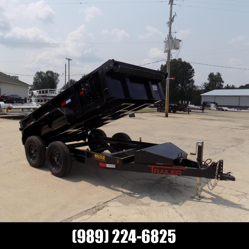 """New ED Trailer 60"""" x 10' Dump Trailer  - $0 Down and  $121/Mo Payments W.A.C"""