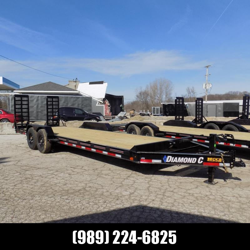 New Diamond C Trailers 7' x 24' Heavy Duty Equipment Trailer - $0 Down & Payments from $135/mo. W.A.C.