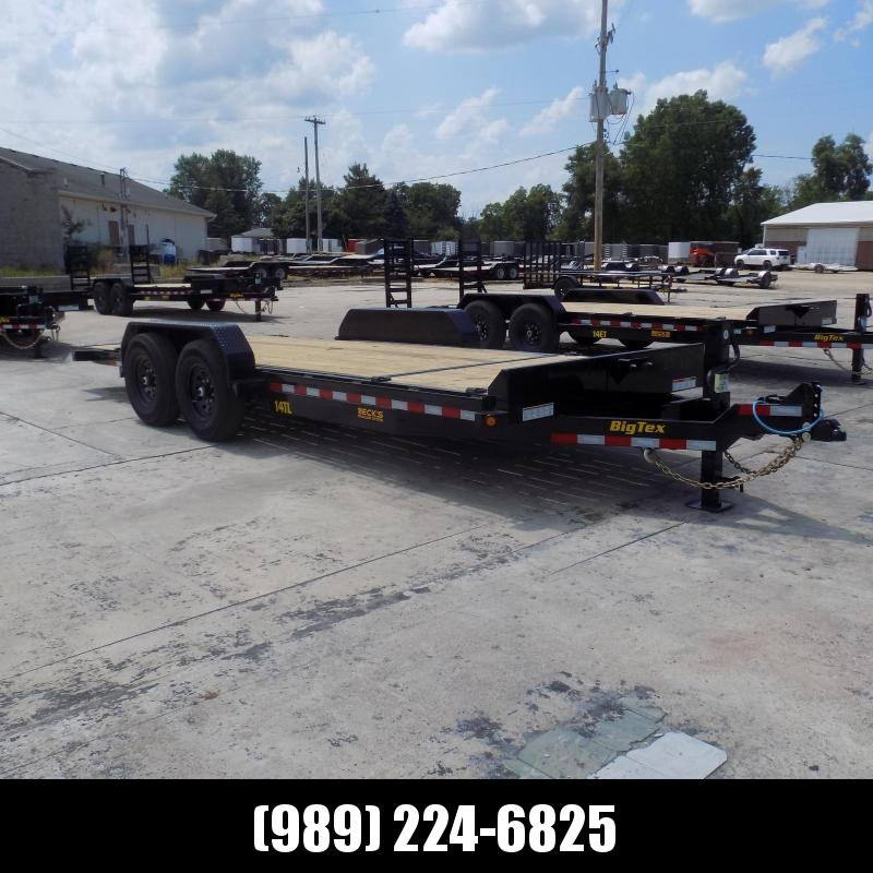 "New Big Tex 83"" x 20' Tilt Deck Equipment Trailer For Sale - $0 Down & Payments From $117/mo. W.A.C."