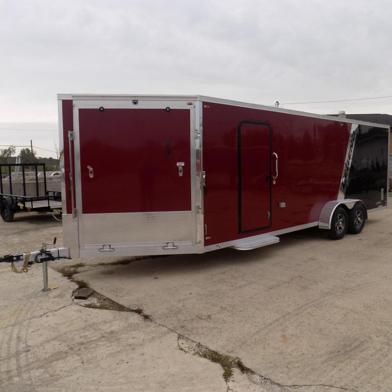 New Legend Explorer 7' x 27' Snowmobile Trailer From $159/mo. W.A.C - Guaranteed Best Deal