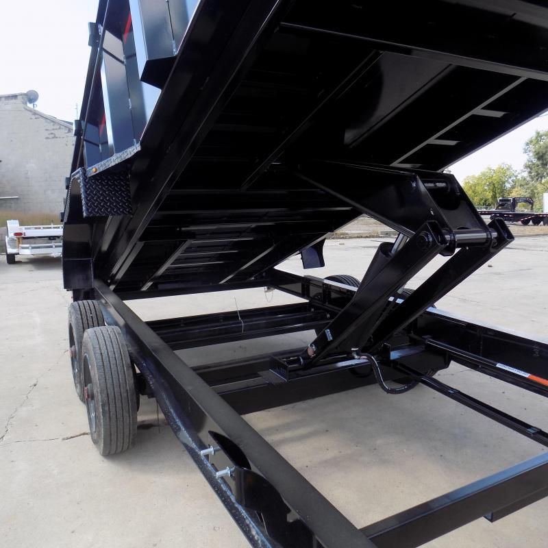 New Diamond C Trailers 7' x 16' Low Profile Dump Trailer - 10K Torsion Axles - $0 Down With Financing Options Available