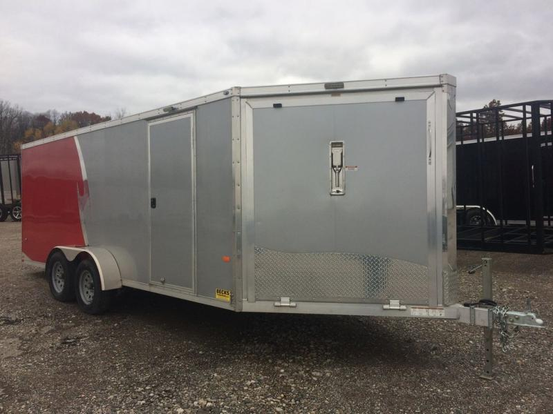 2017 NEO Trailers NAS227TF 7' x 22' Snow Trailer - Demo Unit