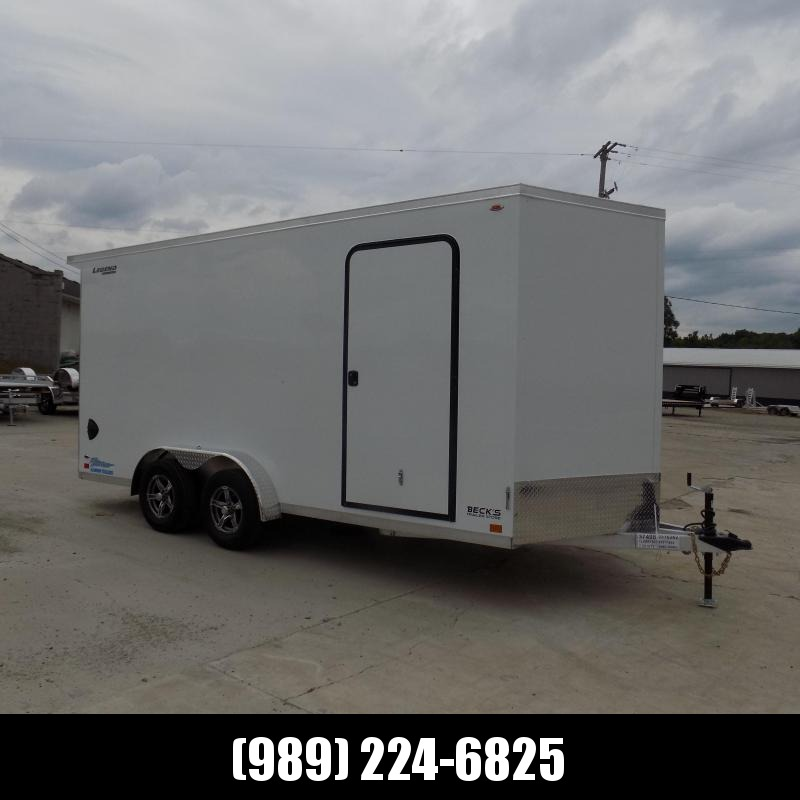 New Legend Thunder 7.5' x 18' Aluminum Enclosed Cargo Trailer for Sale- $0 Down Payments From $155/Mo W.A.C.