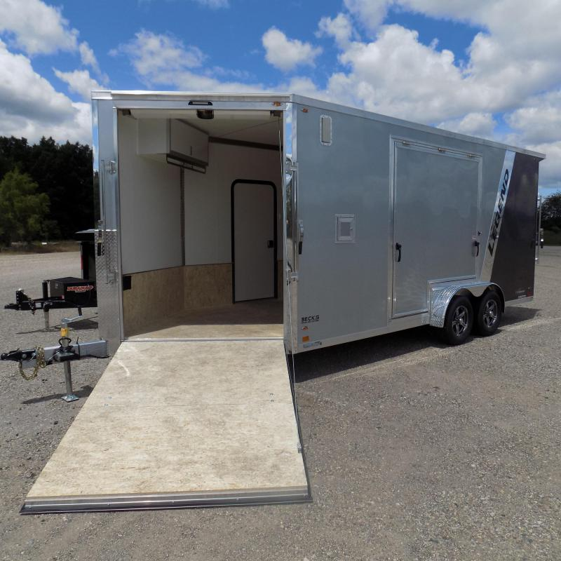 HUNDREDS ARRIVING THIS FALL - Legend Explorer 7.5' Wide Snowmobile / All Sport Trailers - NO Interior Wheel Wells - COMING THIS FALL!