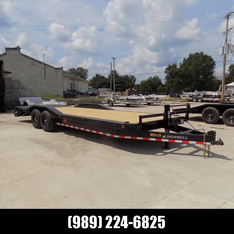 "New Iron Bull 102"" x 26' Equipment Trailer/Car Hauler - Flexible $0 Down Financing Available"