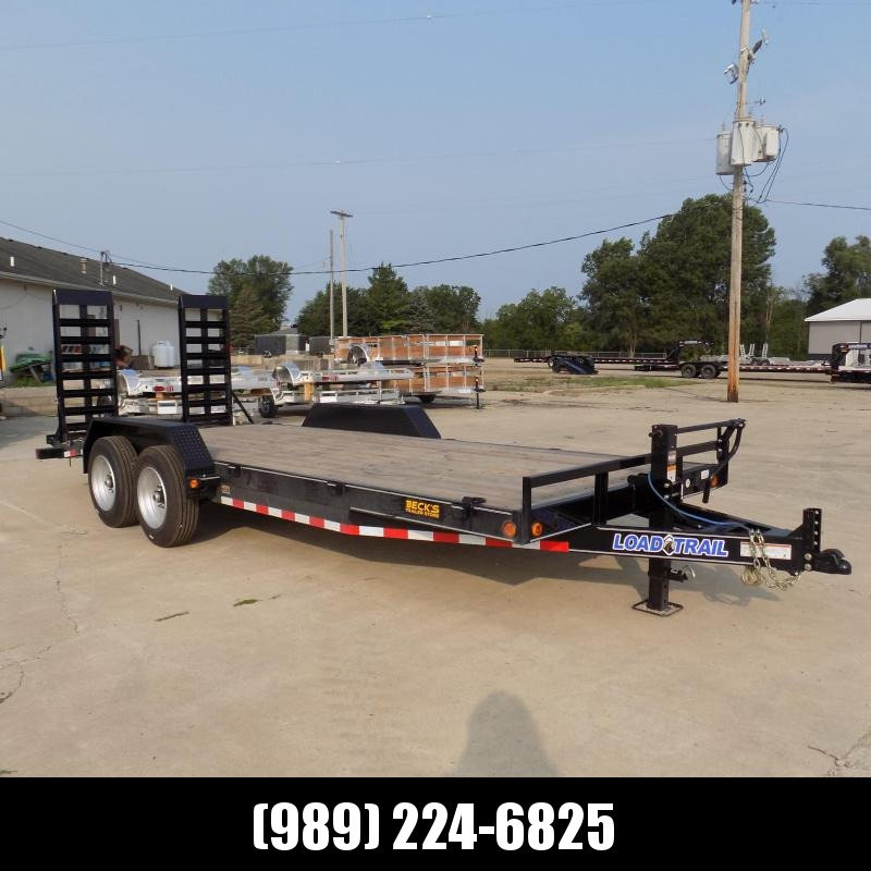 """New Load Trailer 83"""" x 20' Open Car Hauler/Equipment Trailer For Sale - $0 Down & Payments from $139/mo. W.A.C."""