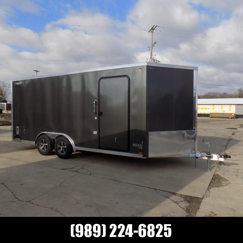 New Legend FTV 8' x 21' Heavy Duty Aluminum Contractor Cargo Trailer - $0 Down Financing Available