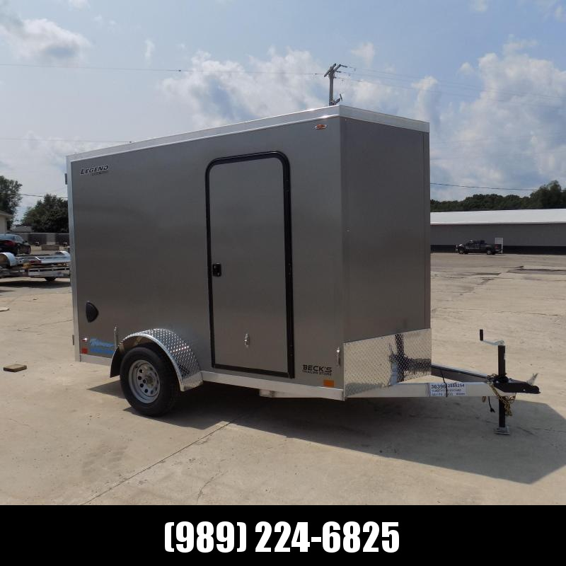 New Legend Thunder 6' x 11' Aluminum Enclosed Cargo Trailer for Sale- $0 Down Payments From $131/Mo W.A.C.