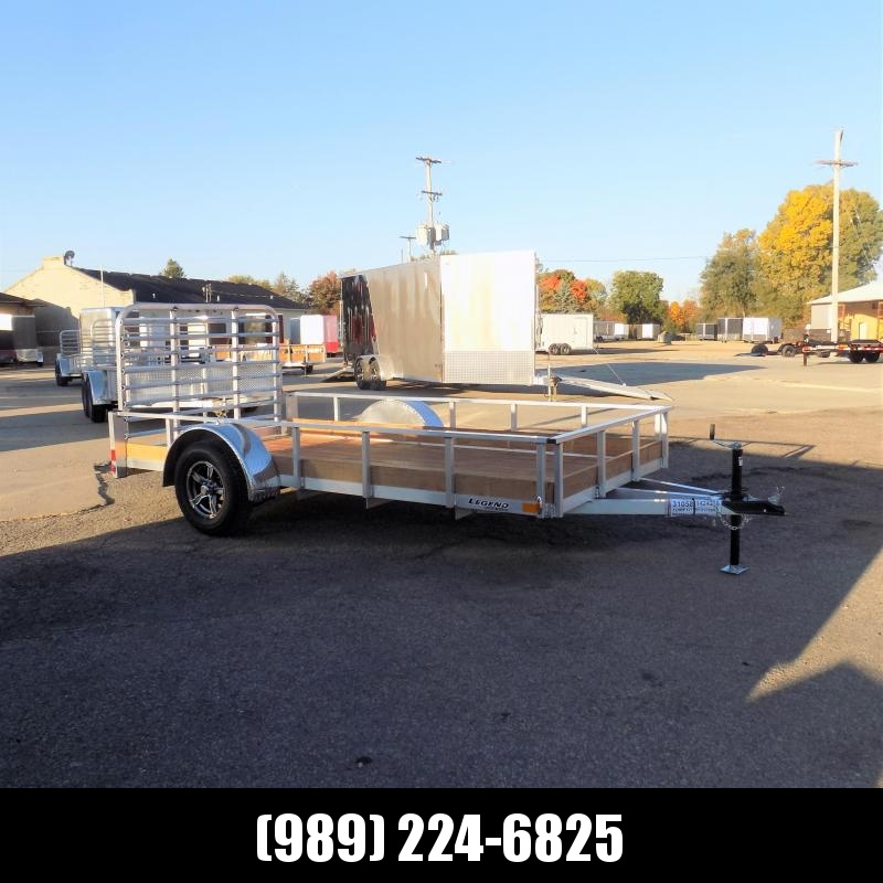 New Legend 6' x 12' Aluminum Utility Trailer For Sale - $0 Down & Payments From $60/mo. W.A.C.
