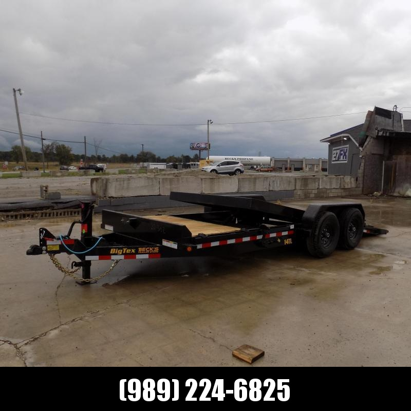 """New Big Tex 80"""" x 20' Tilt Deck Equipment Trailer For Sale - $0 Down & Payments From $119/mo. W.A.C."""