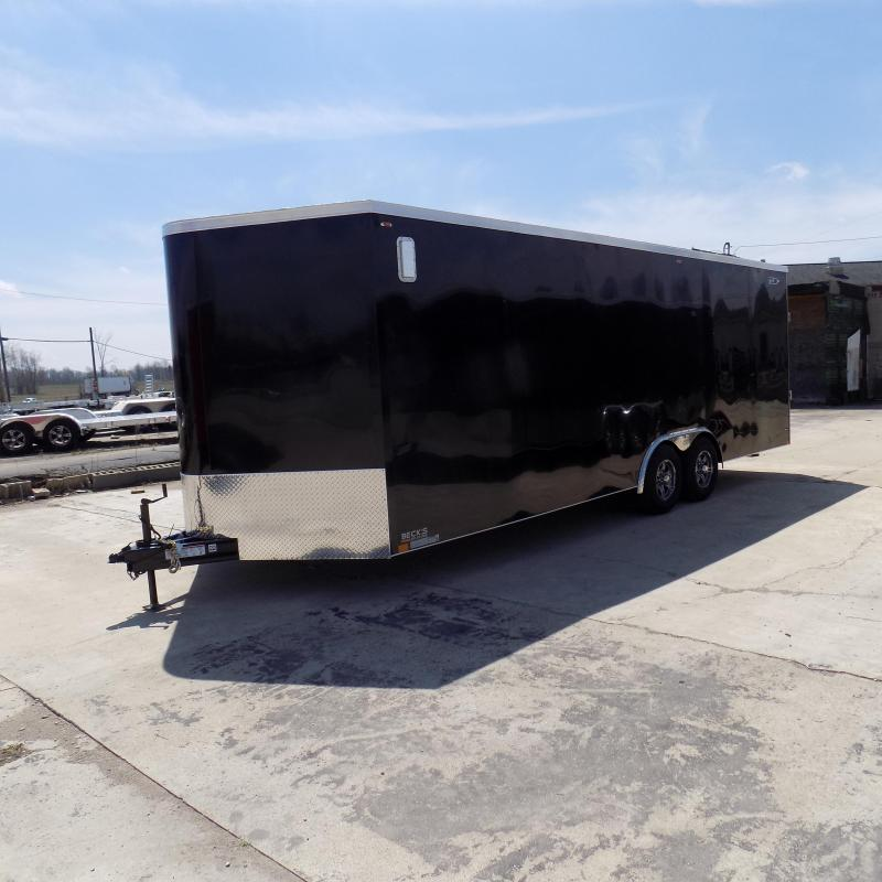 New Legend Cyclone 8.5' x 26' Enclosed Car Hauler Trailer With Torsion Axles - $0 Down Payments From $145/Mo W.A.C