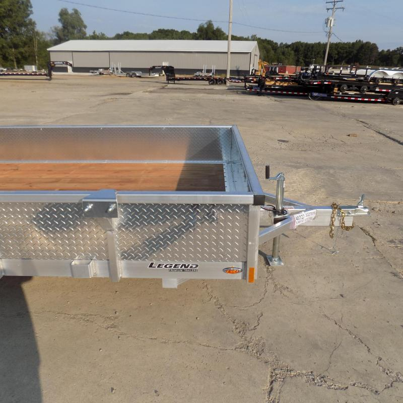 New Legend Open Deluxe 7' x 14' Aluminum Utility - $0 Down & Payments From $111/mo. W.A.C.