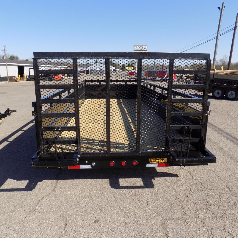 New Big Tex 10TV 7' x 18' Utility/Landscape Trailer With 5200# Axles - $0 Down & Payments From $113/mo. W.A.C.