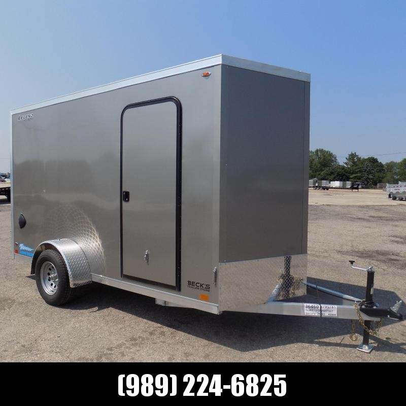 New Legend Thunder 6' x 13' Aluminum Enclosed Cargo Trailer for Sale- $0 Down Payments From $105/Mo W.A.C.