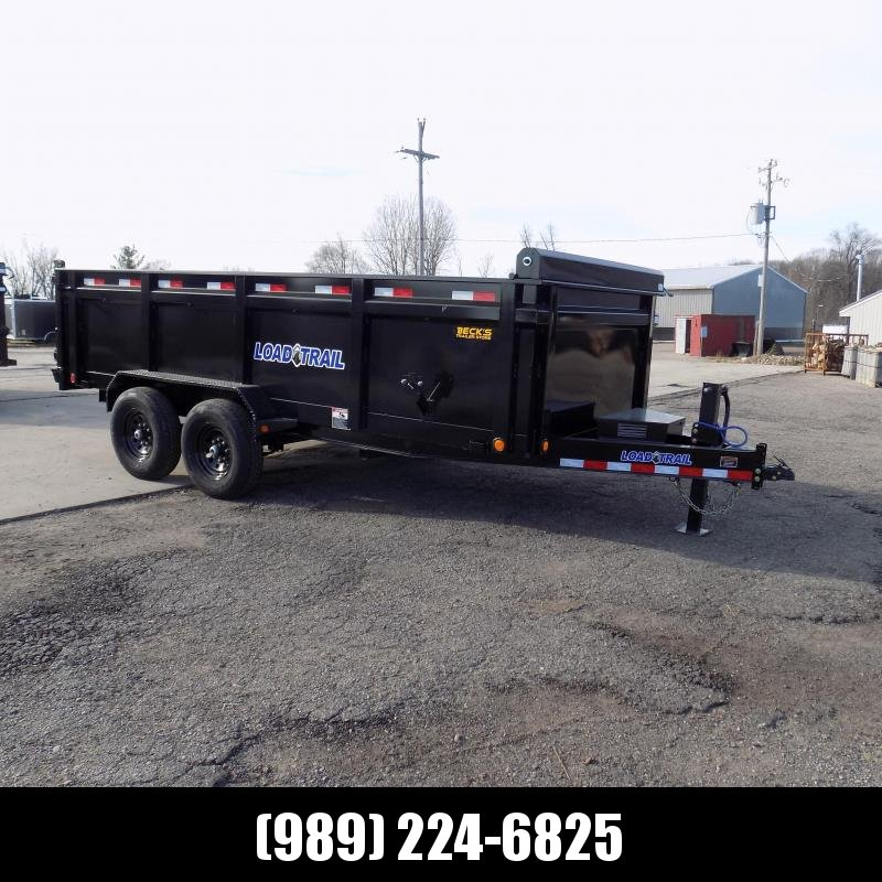 """New Load Trail 83"""" x 16' Dump Trailer With 36"""" Sides - $0 Down & Payments from $139/mo. W.A.C."""