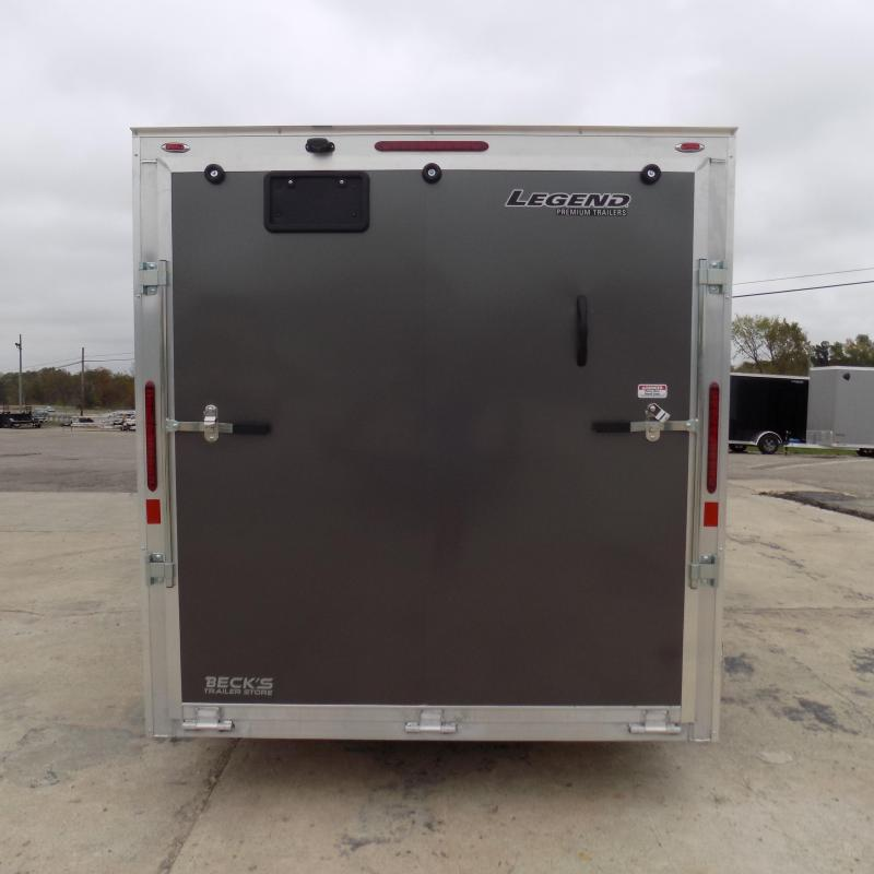 New Legend Thunder 7' x 14' Aluminum Enclosed Cargo Trailer for Sale- $0 Down Payments From $139/Mo W.A.C.