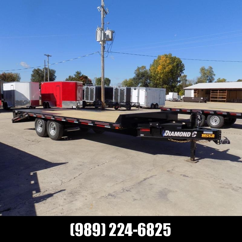 "New Diamond C Trailers 102"" x 20' Deckover Equipment Trailer For Sale - $o Down & Payments From $133/mo. W.A.C."