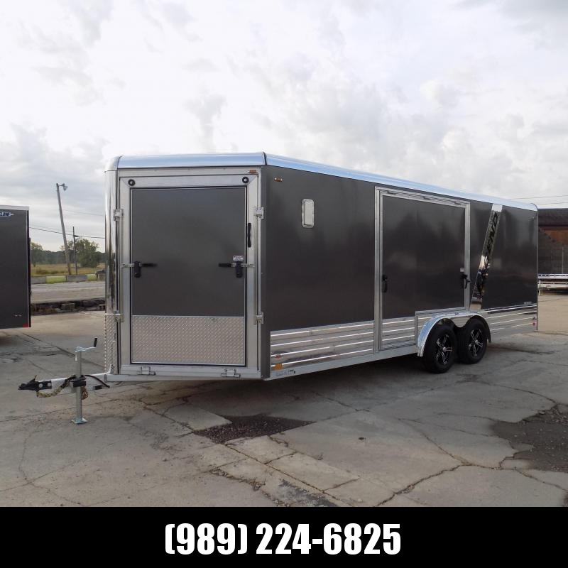 """New Legend Deluxe Snow Trailer 8' X 24"""" Wide Snowmobile / ATV / All Sport Trailers - $0 Down w/Financing Options Available"""