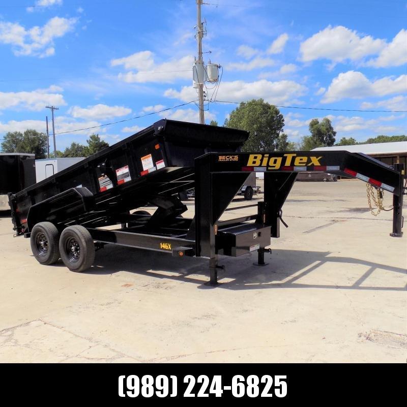 New Big Tex 7' x 14' Gooseneck Dump Trailer For Sale - $0 Down & $139/mo. W.A.C.