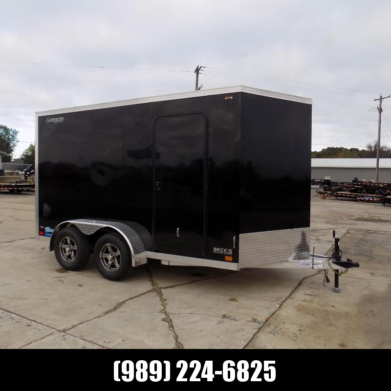 New Legend Thunder 7' x 14' Aluminum Enclosed Cargo Trailer for Sale- $0 Down & Payments From $125/mo. W.A.C.