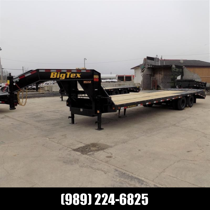 "Big Tex 102"" x 25' + 5' Gooseneck Trailer for Sale - $0 Down & $163/mo. W.A.C."