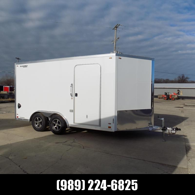 New Legend FTV 8' x 17' Aluminum Cargo Trailer - $0 Down & Payments from $119/mo. W.A.C.