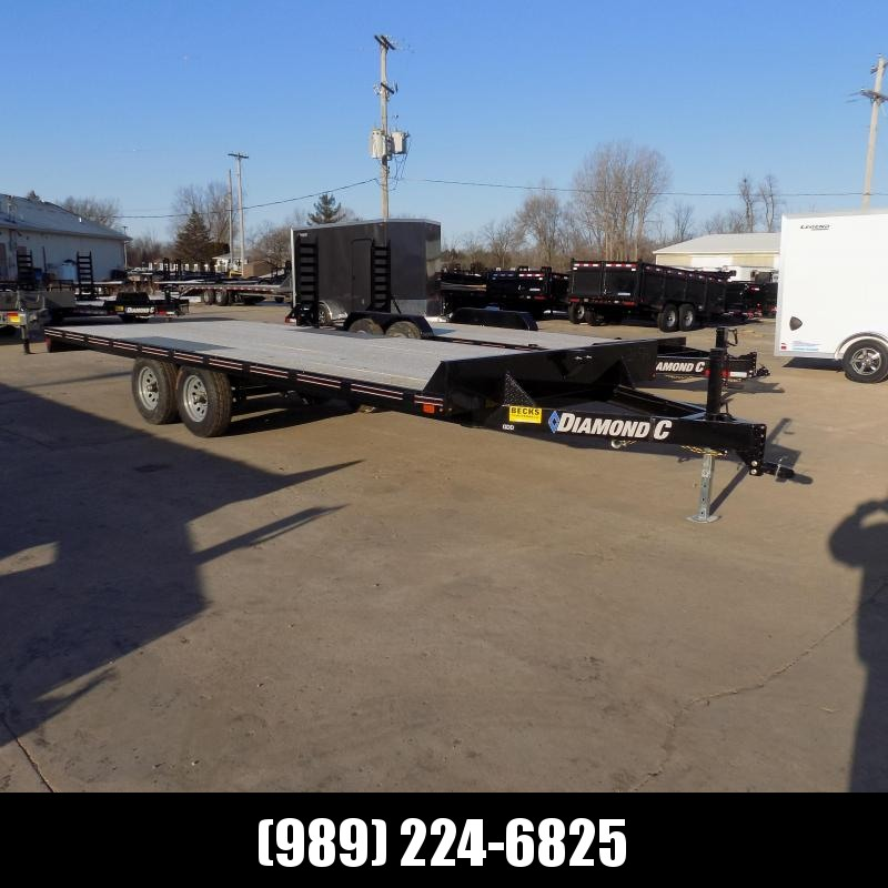 "Diamond C Trailers 102"" x 20' Deckover Equipment Trailer For Sale"