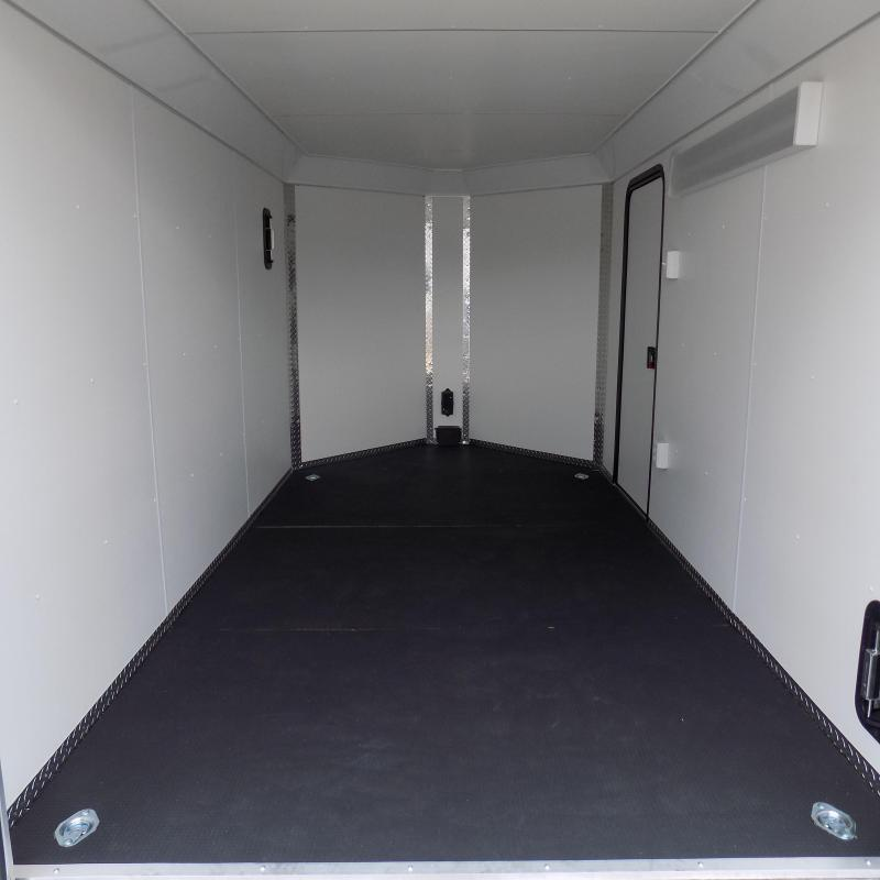 New Legend Deluxe V Nose 7' X 15' All Aluminum Cargo Trailer For Sale - $0 Down & Payments from $117/mo. W.A.C.