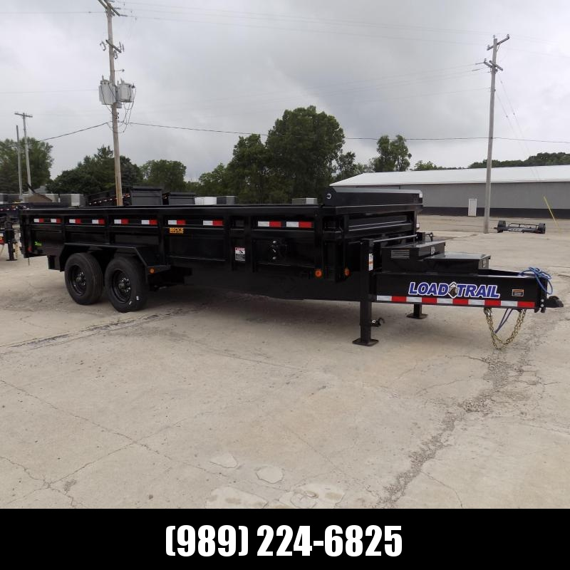 """New Load Trail 83"""" x 20' Dump Trailer W/10K Axles for Sale - $0 Down & Financing Options Available"""
