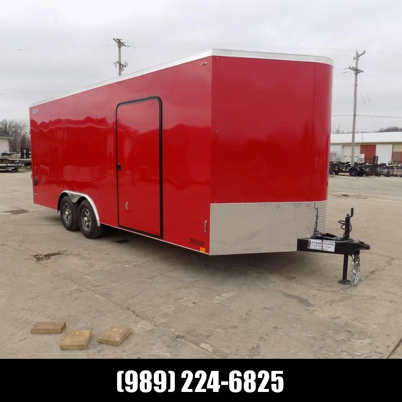 New Legend Cyclone 8.5' x 22' Enclosed Car Hauler / Cargo Trailer for Sale- $0 Down Payments From $125/Mo W.A.C.