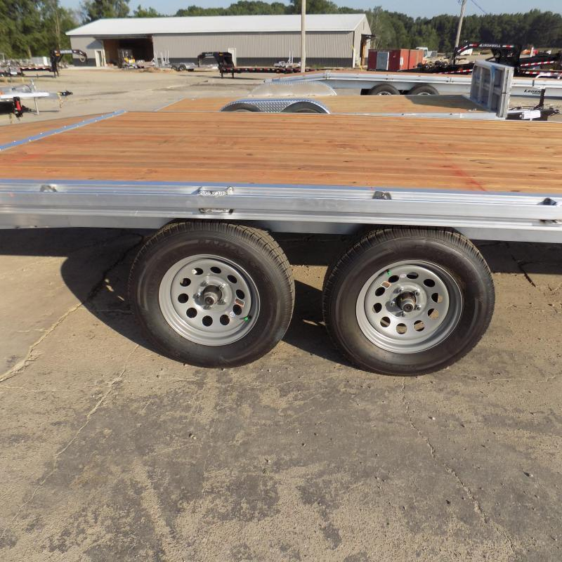 New Legend 8.5' x 22' All Aluminum Deckover Equipment Trailer - $0 Down & Payments From $119/mo. W.A.C.