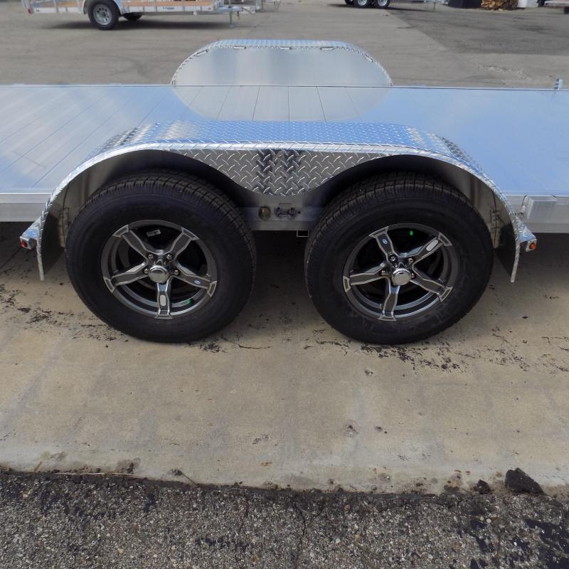 New Legend 7' x 18' Aluminum Tilt Deck Car Hauler - $0 Down & Payments From $135/mo. W.A.C.