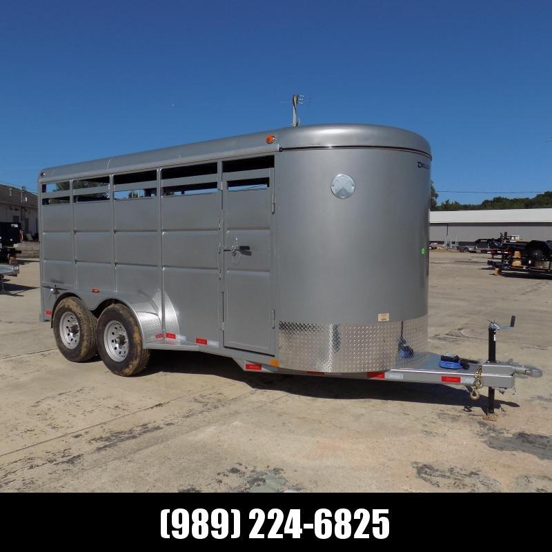 New Delco Trailers 6' X16' Livestock Trailer - $0 Down & $147/mo W.A.C